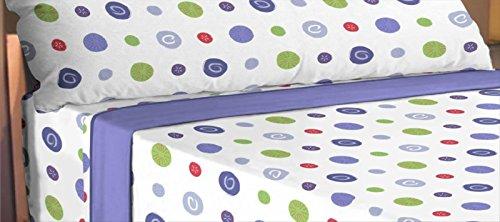 ForenTex - Juego de sabanas de 3 piezas, (LS-4030), cama 90 cm, máxima transpiración y frescura, estampadas, baratas, de microfibras, set de cama. 1-4 sábanas microfibra paga solo un envío, descuento equivalente al finalizar la