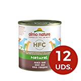 Almo Nature Classic Hundefutter Rind (290g), 12er Pack (12 x 290 g)