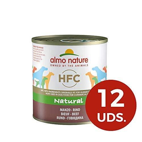 almo nature HFC Naturel Beef- Wet Nourriture pour Chien (Lot de 12x 280g Boîtes)