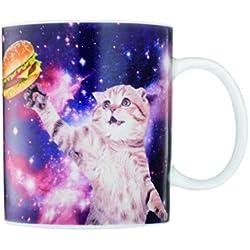 """Gift Republic """"en el espacio de gato"""" taza"""