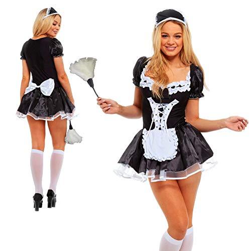 - Französisch Dienstmädchen Outfit Kostüme