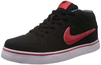 Nike Men's Liteforce II Mid Black,Light Crimson,Dark Grey,White  Casual Sneakers -8 UK/India (42.5 EU)(9 US)
