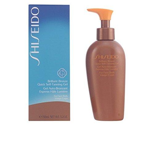 Self-tanning Face Gel (Shiseido Brilliant Bronze Quick Self Tanning Gel (For Face & Body) - 150ml/5oz by Shiseido)