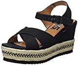 Refresh 69796, Sandalias con Plataforma para Mujer, Marrón Camel, 39 EU