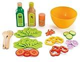 Hape E3116 Educo Gesunde Gourmet Salat Kid 's Holz Play Kitchen Food Set und Zubehör