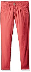 Cherokee Girls Trousers (267485377_Coral_7 - 8 years)