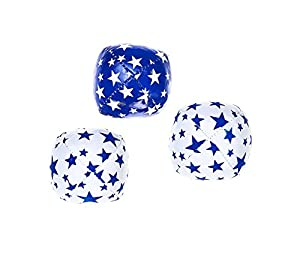 Eureka Acrobat Júnior Juggling Balls (Azul / Rojo / Amarillo)