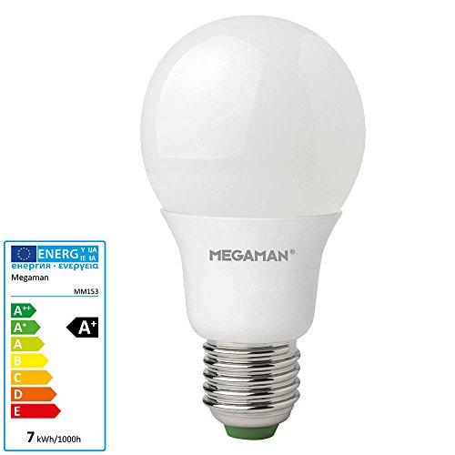 Megaman Pflanzenlampe 115mm 230V E27 6.5W Warm-Weiß Glühlampenform 1St.