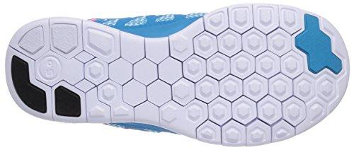 Nike Free 5.0 Sneakers, Bambine E Ragazze Blu (Blue Lagoon/Pink Pow-White-Vlt)