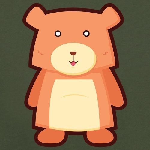 Cute Bear - Herren T-Shirt - 13 Farben Olivgrün