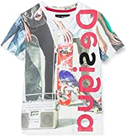 Desigual TS_jürgen Camiseta para Niños