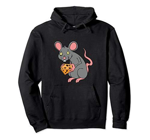 Lustiges Maus mit Käse Sucht Geschenk für Low Carb Diät Koch Pullover Hoodie