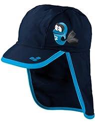 arena - Sombrero - para niña Azul Navy/Turquoise Talla:talla única