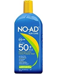 No de AD Crème solaire SPF 50 + Lotion Very High Protection solaire UVA UVB Protection étanche 475ml