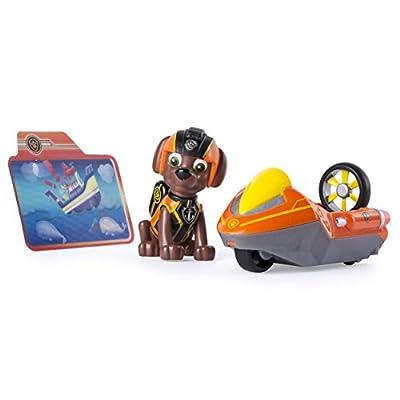 PAW PATROL Minivehículo de misiones y Zuma de Patrulla Canina (6037965) de Spin Master Toys UK