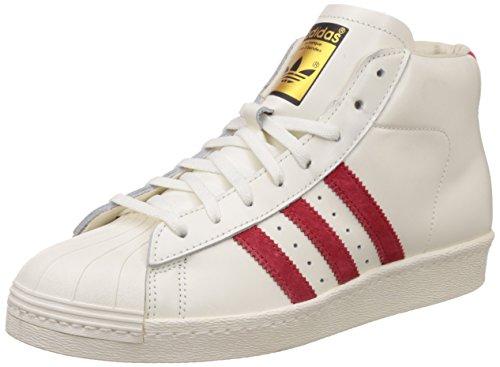 Sneakers pro model vintage dlx Adidas Uomo Bianco (multicolore)