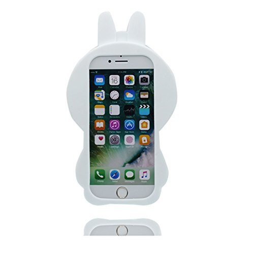 "iPhone 7 Hülle, 3D Cartoon Einhorn Cover Unicorn iPhone 7 handyhülle (4.7 zoll) flexible TPU Shell iPhone 7 case (4.7""), Staub Rutsch kratzfest und Touchstift # 2"