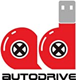 Autodrive Mini Cooper 8 GB USB-Stick im Auto-Design USB 2.0 rot mit Union Jack
