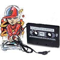 871131 ADATTATORE CASSETTA CASSETTE DA AUTO STEREO PER MP3 MP4