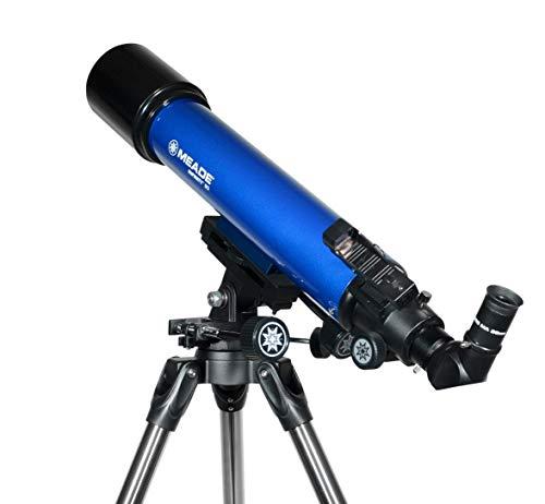 Meade Instruments Infinity 90mm Refractor Azul - Telescopio