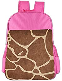 Abstract Giraffe Children School Backpack Carry Bag For Youth Boys Girls