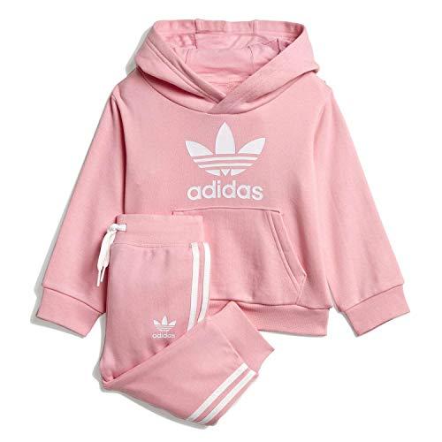 Adidas dv2810 tuta bambino rosa 9-12