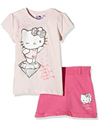 Hello Kitty Girl's Jewels 2 Pcs Outfit Clothing Set