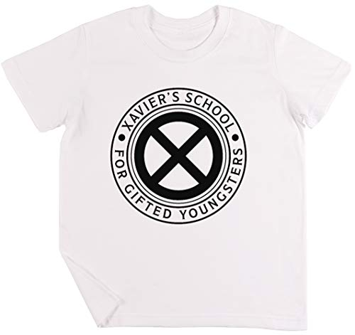Xaviers School for Gifted Youngsters Niños Chicos Chicas Unisexo Camiseta Blanco
