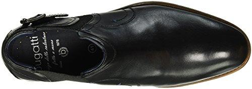 Bugatti 311181201000, Stivaletti Uomo Nero (schwarz 1000schwarz 1000)