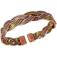 Magnetisch Drei Farbe Falte Armband Kupfer, Messing und Aluminium preisvergleich bei billige-tabletten.eu