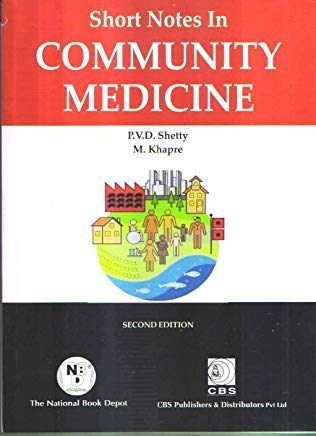 SHORT NOTES IN COMMUNITY MEDICINE 2ED (PB 2020)