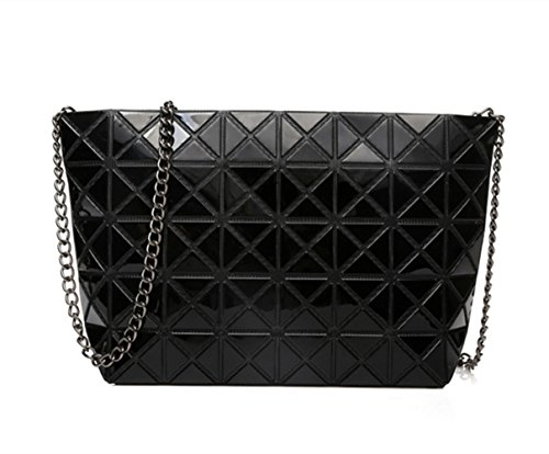 Flada, Borsa a tracolla donna nero Black medium Black