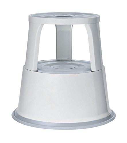 Wedo 212137 Rollhocker (Metall TÜV- und GS-geprüft nach EN 14183-F) lichtgrau