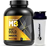 Muscleblaze Whey Gold 100% Whey Isolate Protein 2 kg (Rich Milk Chocolate) With Shaker Free