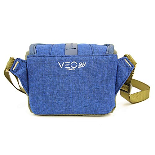 Vanguard Veo Travel 9H BL - Funda compacta para CSC (14x7x10cm) Color Azul