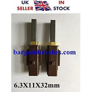 Carbon Brushes for Ametek Lamb 33326-1 Vacuum Cleaner 115737 116036 117213 2311480 333261 33326 G4