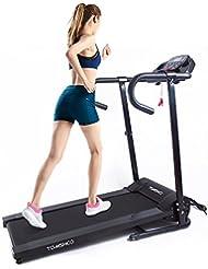 Lixada 500W Motorisé Tapis Roulant Electrique Pliant Courir Jogging Machine Home Gym Fitness Machine