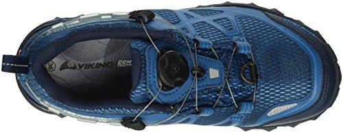 Viking Anaconda Boa Iv, Chaussures de Trekking et Randonn&EacuteE Mixte Adulte Bleu - Blau (Navy/Petrol 555)