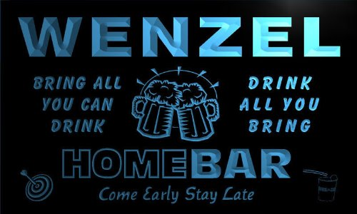 q48017-b-wenzel-family-name-home-bar-beer-mug-cheers-neon-light-sign