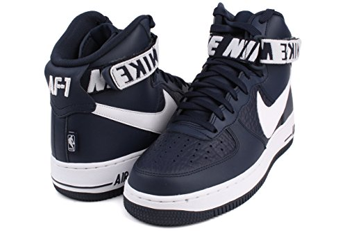 Nike Air force 1 High 07 Sneaker Trainer College Navy/White