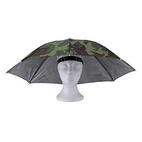 Deportes aire libre portátil 69 cm Paraguas Sombrero