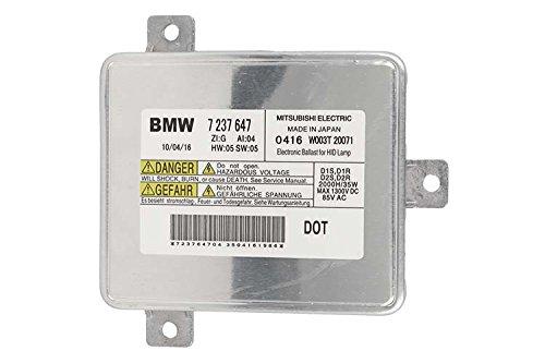Centralina Ballast Xenon Mitubishi D1S D1R D2S D2R BMW 7237647 E90 E91 Facelift F10 Serie 7 F01 F02 F03 Serie 5 GT F07 X1 E84 Z4 E89 35W 85V