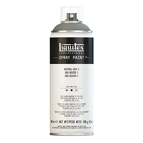 Liquitex Professional - Acrílico en spray, 400ml, gris neutro 5