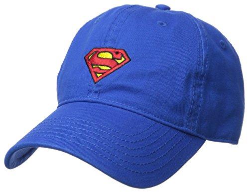 Esta gorra de béisbol oficial de Superman con un aspecto lavado será una gran adición a tu armario. Está hecho de tejido de algodón 100% cepillado ligero y transpirable con un logotipo de Superman bordado plano en el centro. La visera curvada ayuda a...