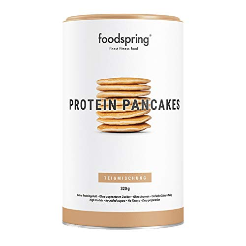 foodspring Protein Pancakes, 320g, 6x mehr Protein als normale Pancakes