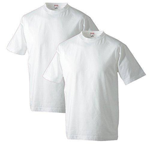 Adamo T-Shirt Doppelpack MARLON in Übergröße Dunkelblau