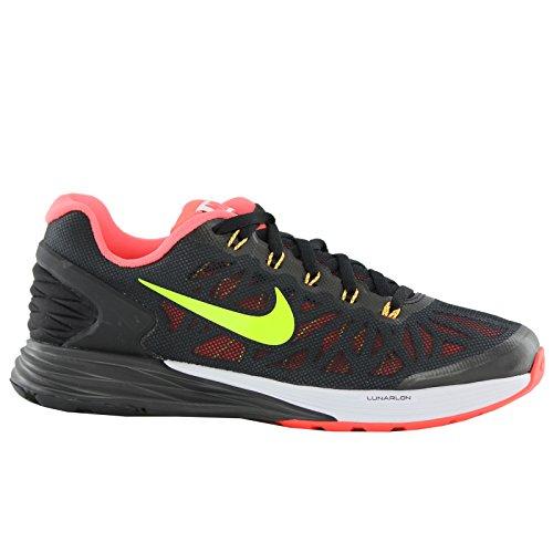 Nike Lunarglide 6 Black Youths Trainers - 654155-004 Schwarz
