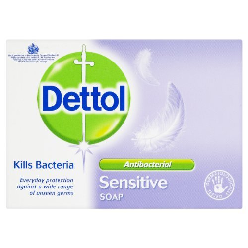 Dettol Bar Soap Sensitive 100g Pack of 6 by Dettol