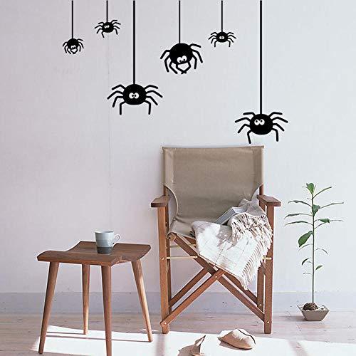 Wandaufkleber Kinderzimmer Wandaufkleber Diy Malerei Halloween Spinne Malerei Wohnzimmer Schlafzimmer Malerei Dekorative Aufkleber (Spinnen Halloween Diy)