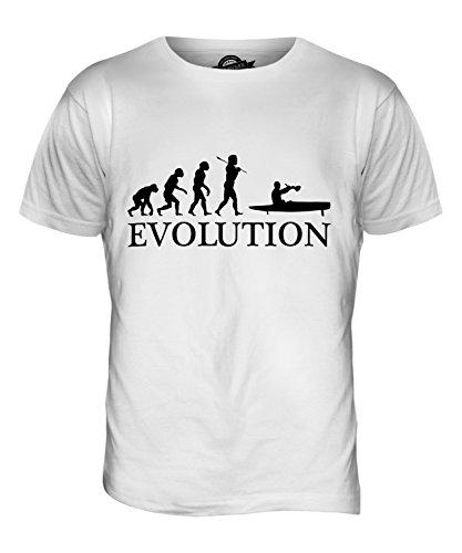 CandyMix Flyak Evolution Des Menschen Herren T Shirt Weiß
